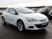 2012 vauxhall astra GTC sport 1.4 petrol with only 32000 miles, motd feb 2018