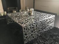 Coffee Table Aluminium from Kare Design