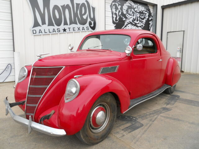 Rare 1937 lincoln zephyr 3 window coupe unmolested offered for 1936 lincoln zephyr three window coupe