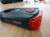 BELL Rear red cycling LED light, bolt on allen key system,
