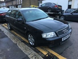 AUDI A6 AVANT 1.9 TDI DIESEL FINAL EDITION 2005 AUTOMATIC LOW MILEAGE 1 FORMER OWNER SAT NAV LEATHER