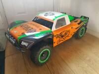 Losi 5ive T. Zenoah 29cc. Upgraded. Savox. FID. Area Rc. 1-5 Scale Petrol RC Car Truck SCT