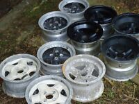 REVOLUTION WHEELS. VARIOUS SIZES AND PRICES PAIRS AND SINGLES