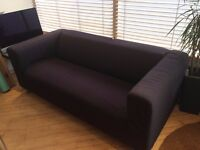 FREE Black 3 seater sofa