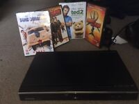 DVD player and Dvd's (Toshiba)