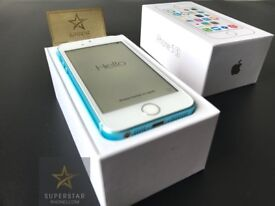 iPhone 5S 16GB Ocean Blue Limited Edition New Unlocked