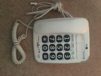 BT big buttons V2 corded phone