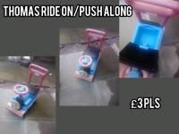 Thomas ride on /push along