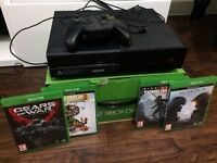 XBox One 500GB with 4 Games