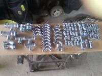 Carbon Steel pipe fittings crimped