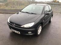 2004 Peugeot 206 fever good tyres