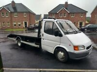 Ford transit recovery truck with psv