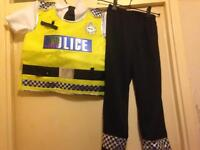 Boys police dress up outfit