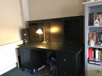 Black study table for sale