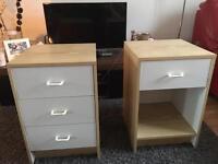 Bed side tables / desk tables