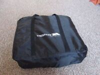 Trespass single air mattress with integrated pump + air pillow + case