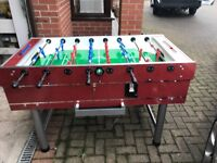 FOOTBALL TABLE LONGONI X DISPLAY FULL SIZE .