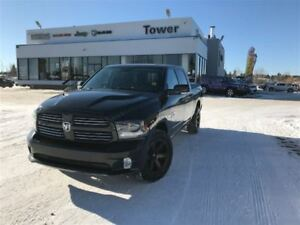 2015 Ram 1500 Sport-HEATED STEERING, TOUCHSCREEN, USB/AUX