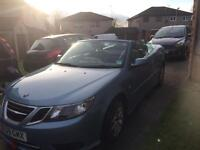 SAAB 9-3 Vector Convertible 1.9 TDi Sport, 2dr, 09 plate, Automatic