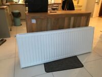 White double radiator 600x1600 nearly new good condition