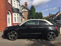 AUDI A1 GENUINE BLACK EDITION 2.0TDI LOW MILES MAY PX GOLF/S3/BMW