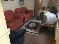Large Double Room for single person in Shared House, Southsea, Bills included, available now