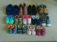Loads of boys and girls shoes! Size 2 - 9 infant