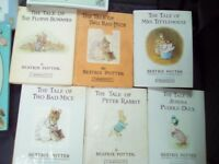 Mixed beatrix potter booksX 6 roahl dalh ono