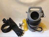 Sealey SB993 Shot Grit Sand Blasting Blaster Kit C/W Gloves + Airlines + Filter