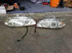 Civic eg ej2 angel eyes headlights
