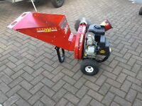 Petrol 9hp Chipper Shredder.