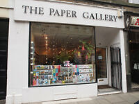 Shop to let Business Paper gallery to lease in Newington City center