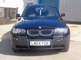 BMW X3 3.0 i Sport 5dr Black