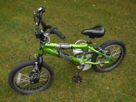 Boys bike Avigo spank 16in wheels