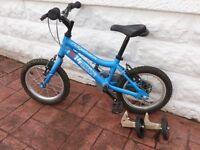 "Children's blue ridgeback 14"" bike"
