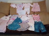 0-3 3-6 girls clothes bundle