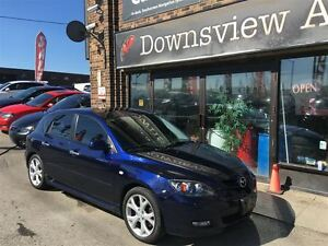 2008 Mazda MAZDA3 SPORT AUTO!! FULLY LOADED!! HATCH!! LEATHER!!