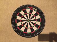 Dartboard - virtually unused - great condition.