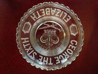 Commemorative Plate. Coronation George VI & Elizabeth