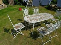 garden patio furniture table and chairs