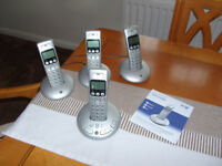 BT Graphite 3500 Quad Phone Set