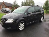 06 VOLKSWAGEN TOURAN 1.9 TDI SE 7 SEATER FULL MOT P/EX WELCOME