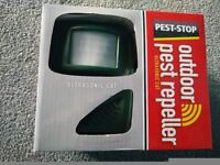 PEST STOP Outdoor Pest Repeller - Ultrasonic Cat and small dogs