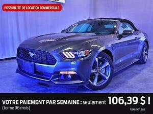 2015 Ford MUSTANG  CABRIO V6 SPORT PACK