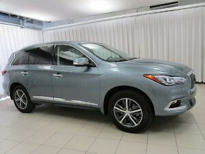 2017 Infiniti QX60 3.5 SUV 7PASS w/ HEATED LEATHER, NAVIGATION,