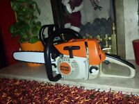 "stihl ms260 chainsaw 16"" bar and chain in excellent used condition!!!SEE VIDEO!!"
