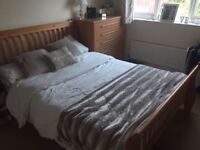"""Double bed 4""""6"""" in size good condition from a smoke free home"""