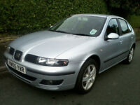 SEAT Leon 1.9 TDI SE 5dr 2005 1 Owner From New, 12 Months MOT