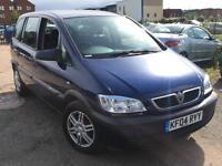 Vauxhall Zafira 2.0 DTi 2004 + FULL SERVICE HISTORY + LOW 76,000 MILES + DRIVES SUPERB