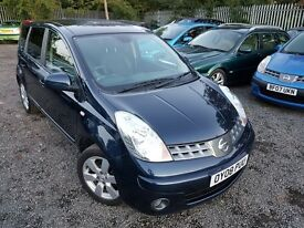 Nissan Note 1.6 16v Tekna 5dr, AUTOMATIC, GENUINE LOW MILEAGE, FSH, HPI CLEAR, 2 KEYS, 1 OWNER